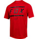 Fox Ranger Bars Short Sleeve Jersey Men bright red